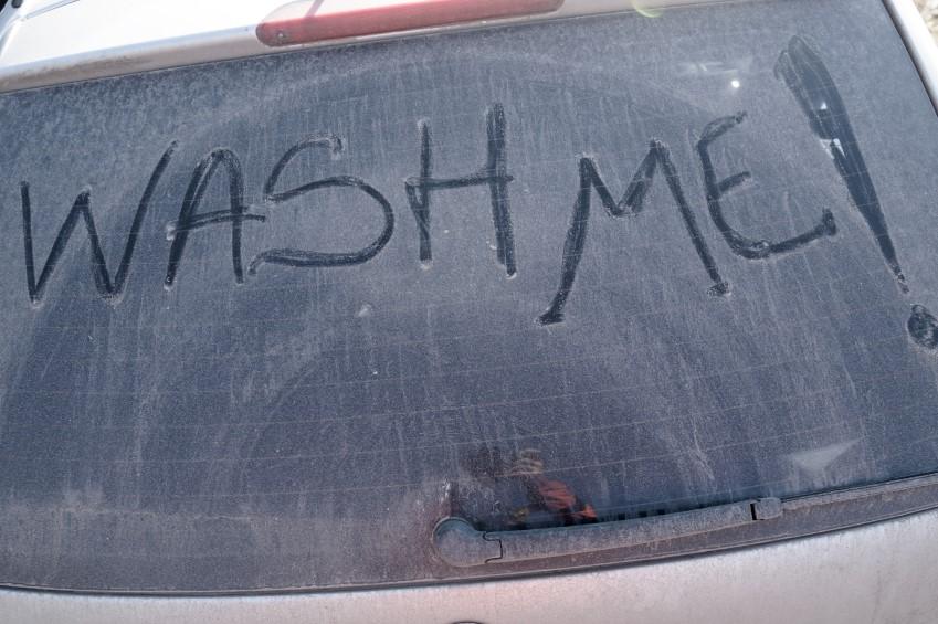Childrens excuses - car clean me