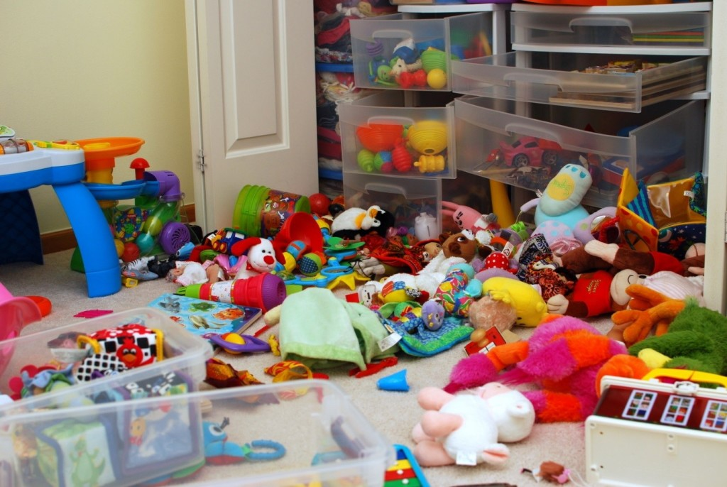 Worst places to clean - childs bedroom