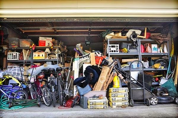 Worst places to clean - the garage