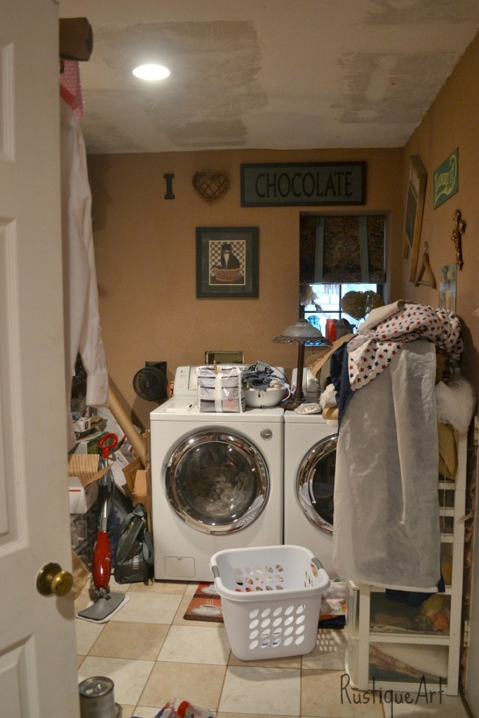 Worst places to clean - utility room