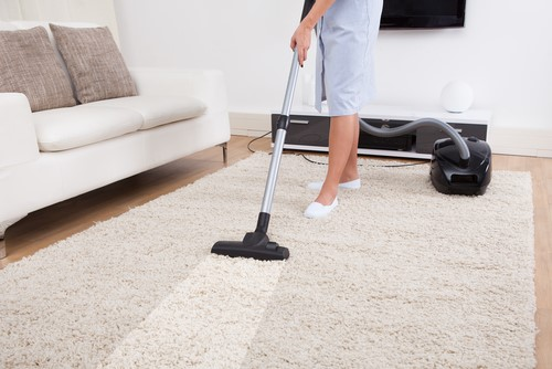 Cleaning your new home's carpets