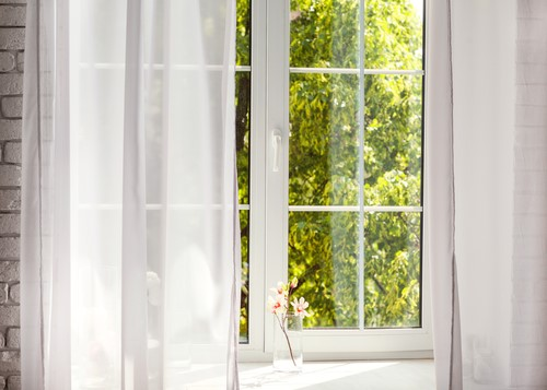 Cleaning your new home's curtains