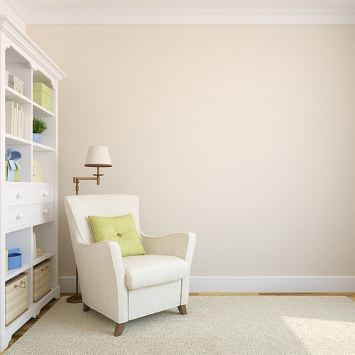 cleaning your new home's walls