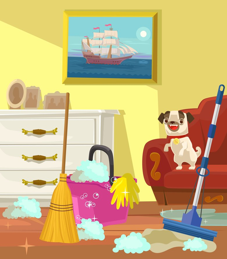 How to ensure the big spring clean doesn't harm your pets