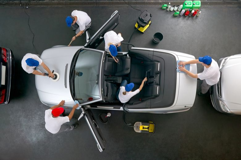 Professional car cleaning service