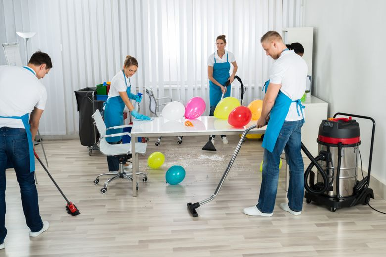 How To Clean Up After Having A Party Rubandscrub