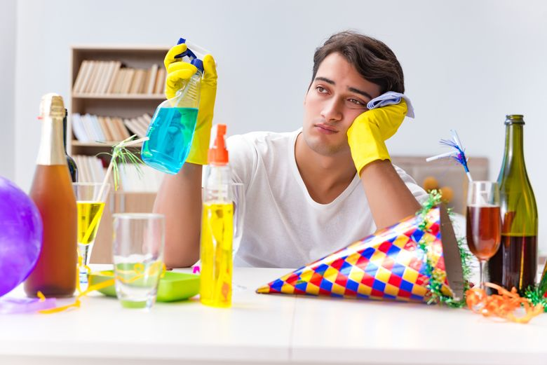 How To Clean Up After Having A Party